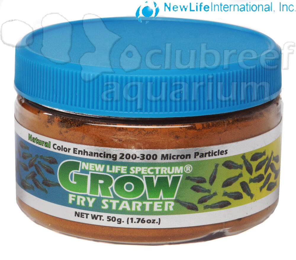 Spectrum grow fry starter micro particle freshwater for Saltwater fish food