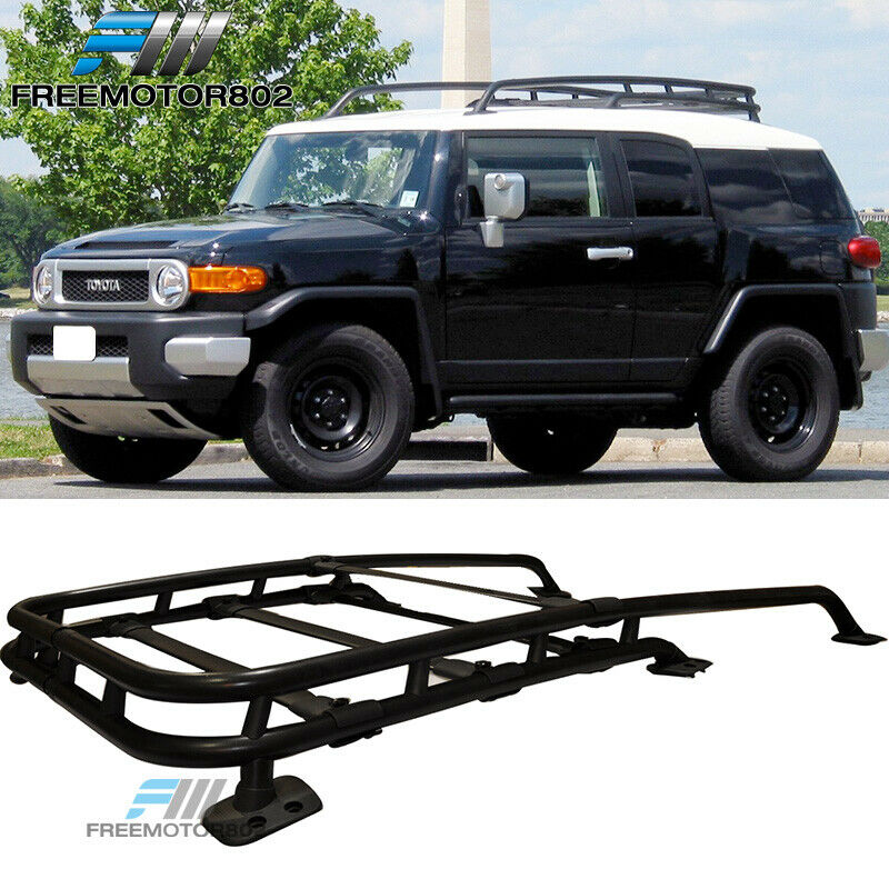 Fj Cruiser Roof Racks : For toyota fj cruiser oem factory style black roof