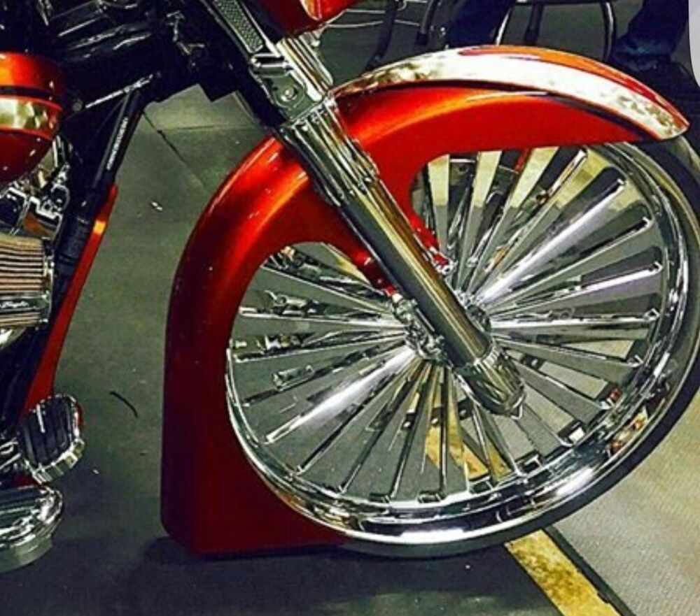 Harley Davidson Front Fenders : Ultra classic touring harley davidson quot wrap fl style