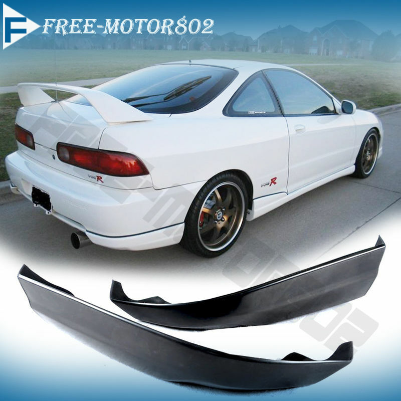 For 98 99 00 01 Acura Integra Rear Bumper Lip Spoiler Poly