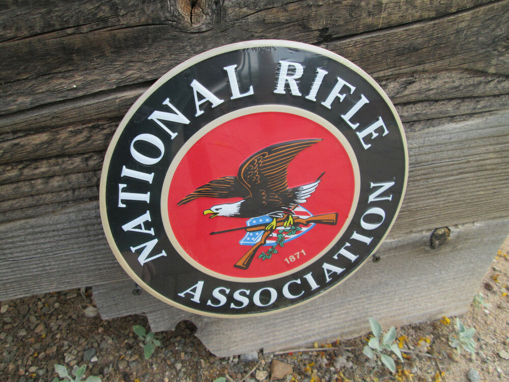 National rifle association of america nra 1871 raised for Raised metal letters