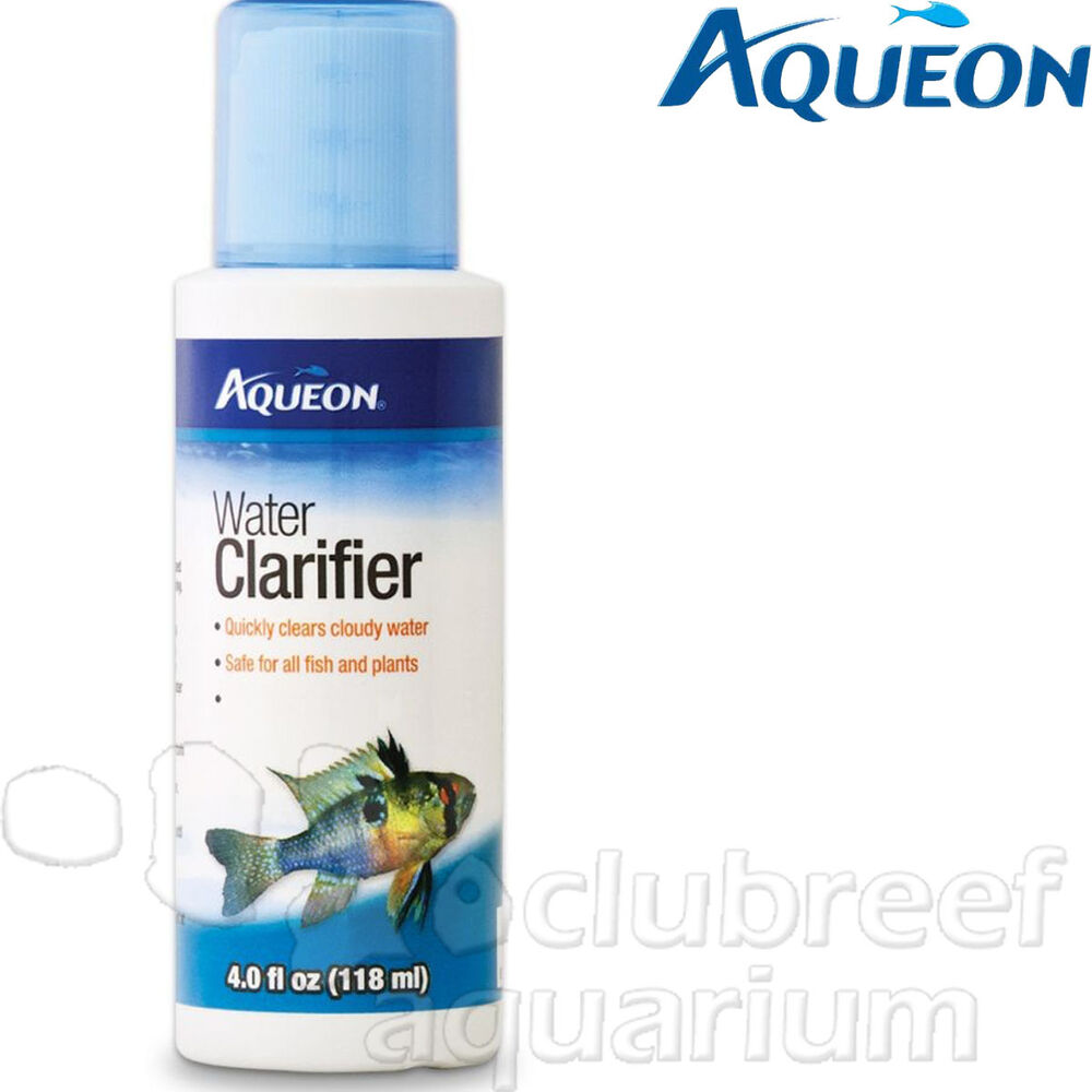 Water clarifier clears cloudy freshwater aquarium 4oz for My fish tank water is cloudy