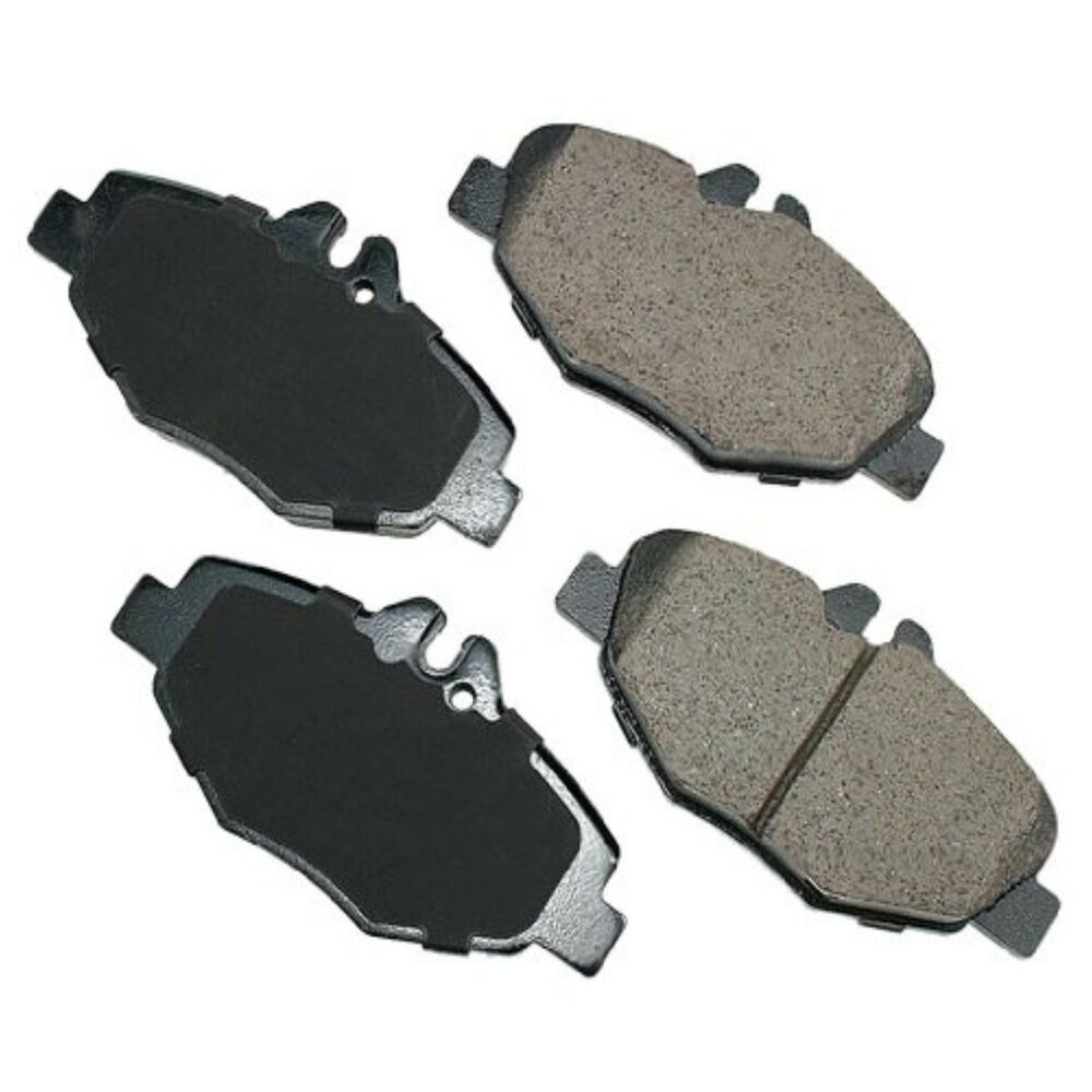 Mercedes benz e320 front brake pads e320 2003 2009 e350 for Mercedes benz rotors and pads