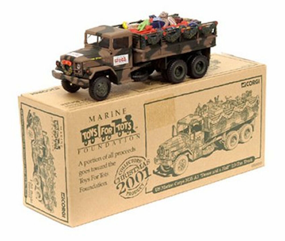 2 Toys For Tots : Corgi toys for tots usmc m a deuce and half