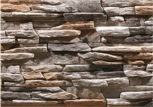 Cultured Stone Walls : Cultured manufactured stone veneer wall siding custom
