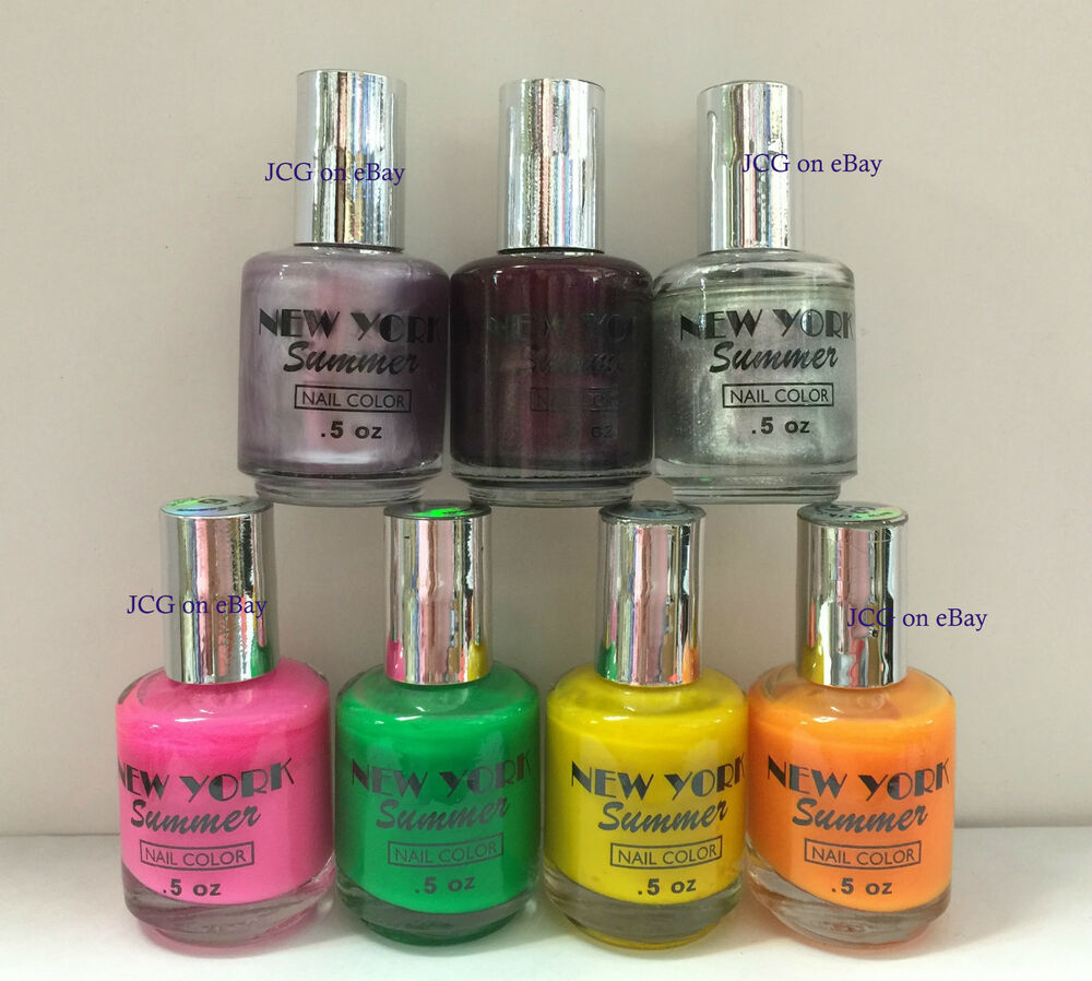 NEW YORK SUMMER Nail Polish - BRAND NEW - YOUR CHOICE | eBay