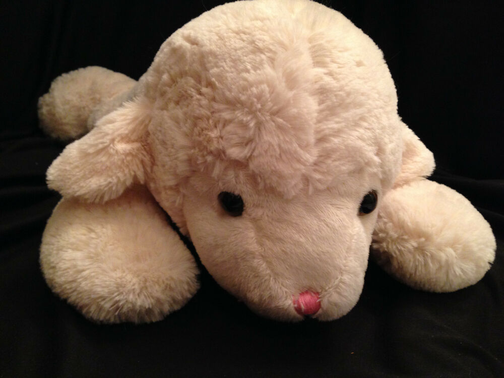 Large Baby Lamb Squishy Easter Plush Soft Fluffy Stuffed ...