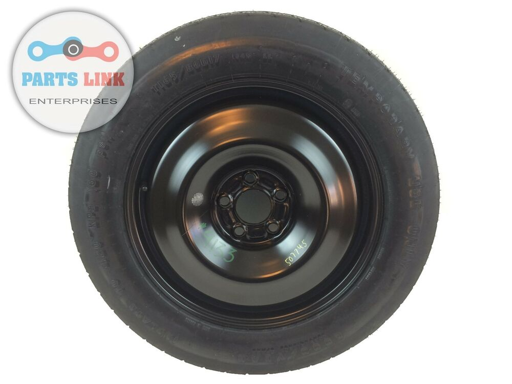 jeep cherokee 2014 2015 spare tire wheel 17x4 t165 80d17 165 80 17 oem ebay. Black Bedroom Furniture Sets. Home Design Ideas