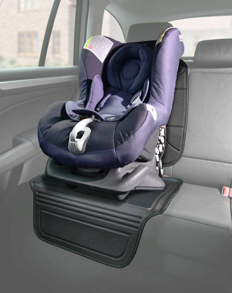 venture two stage 2 piece car seat saver protector black ebay. Black Bedroom Furniture Sets. Home Design Ideas