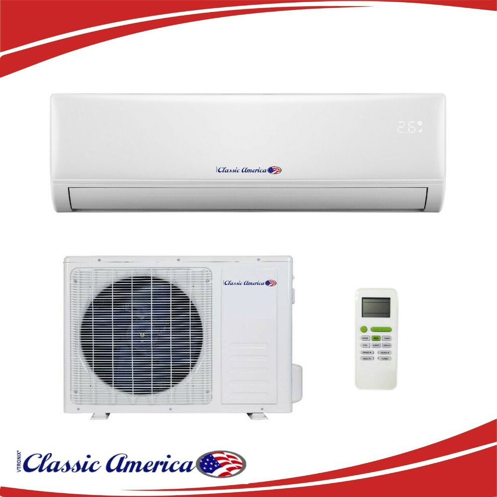 24000 Btu Inverter Ductless Air Conditioner Heat Pump Mini