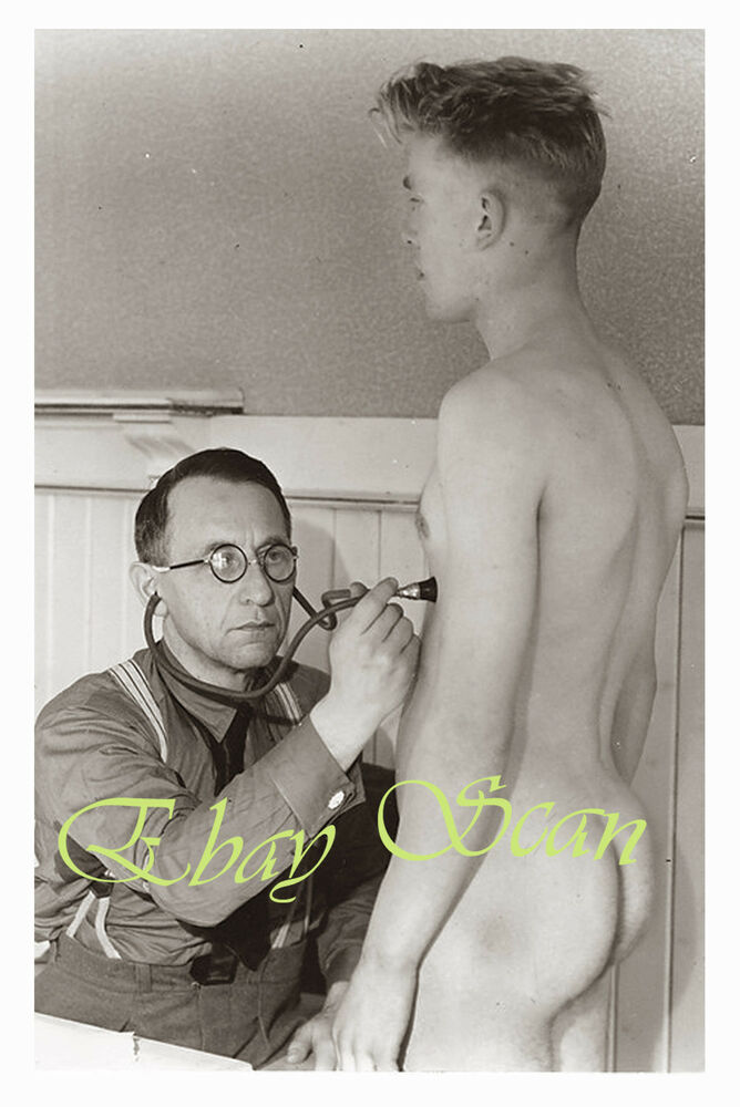 image Doctor gay penis exams and officer naked