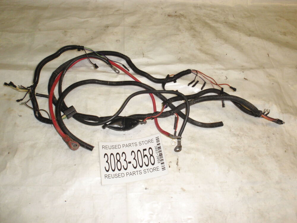 1996 polaris trailboss 250 2x4 atv fourwheeler wire harness ebay