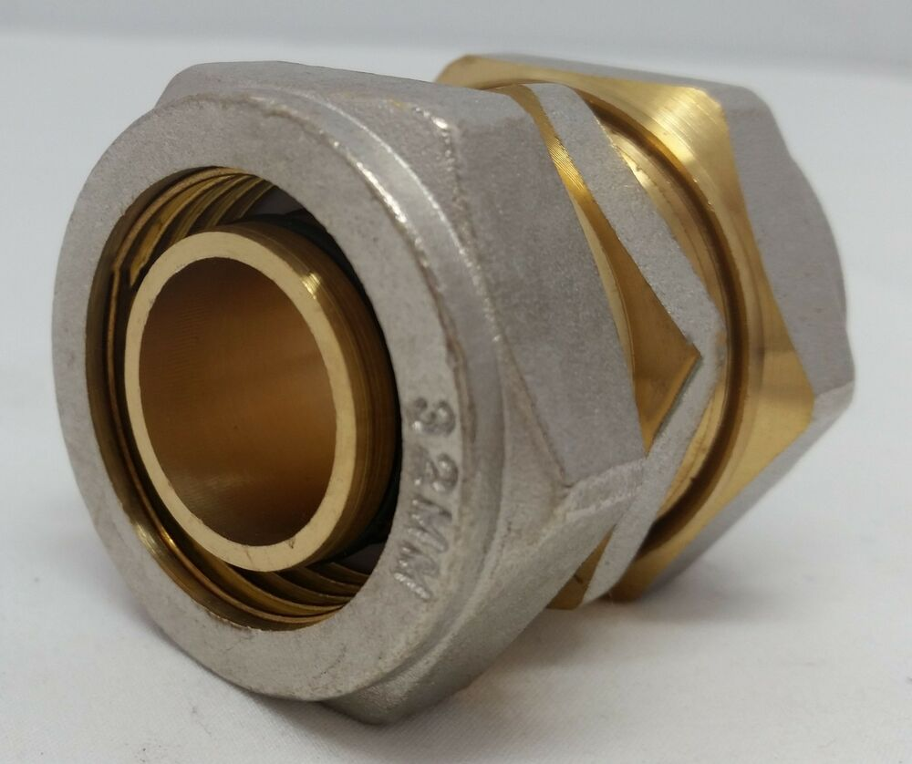 Quot pex al compression fitting coupling ebay
