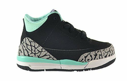 ef9aa47f965572 Details about 654964-045 Nike Air Jordan 3 Retro Blk Iron Purple-Turquoise  Sz 6-10 New In Box