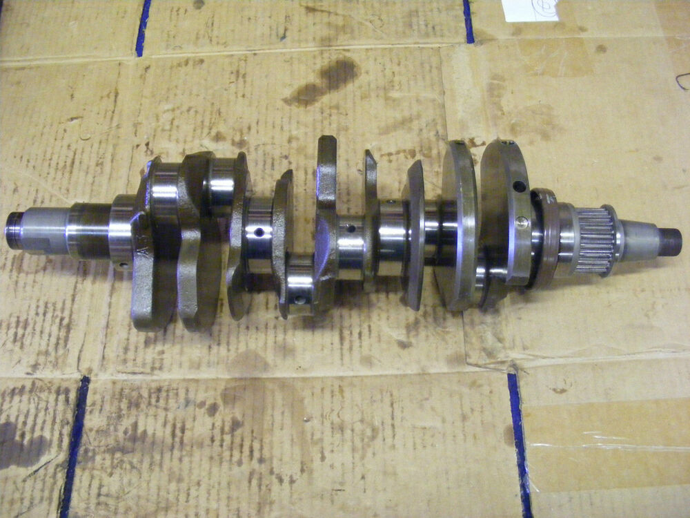 Yamaha 225 250 hp crankshaft 6p2 11410 10 00 f250 lf250 4 for 225 yamaha 4 stroke