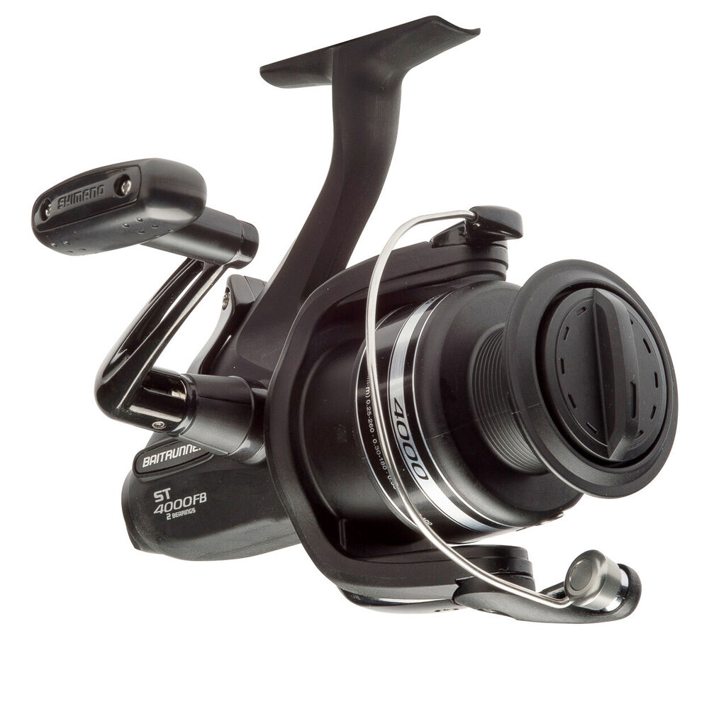 Shimano baitrunner st 4000 fb spinning fishing reel brand for Ebay fishing reels