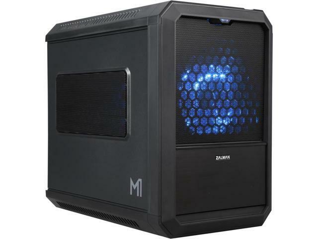 ZALMAN M1 Black Steel / Plastic Mini-ITX Tower PC Case | eBay
