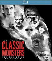 Universal Classic Monsters: The Essential Collection [Blu-ray] New DVD! Ships Fa
