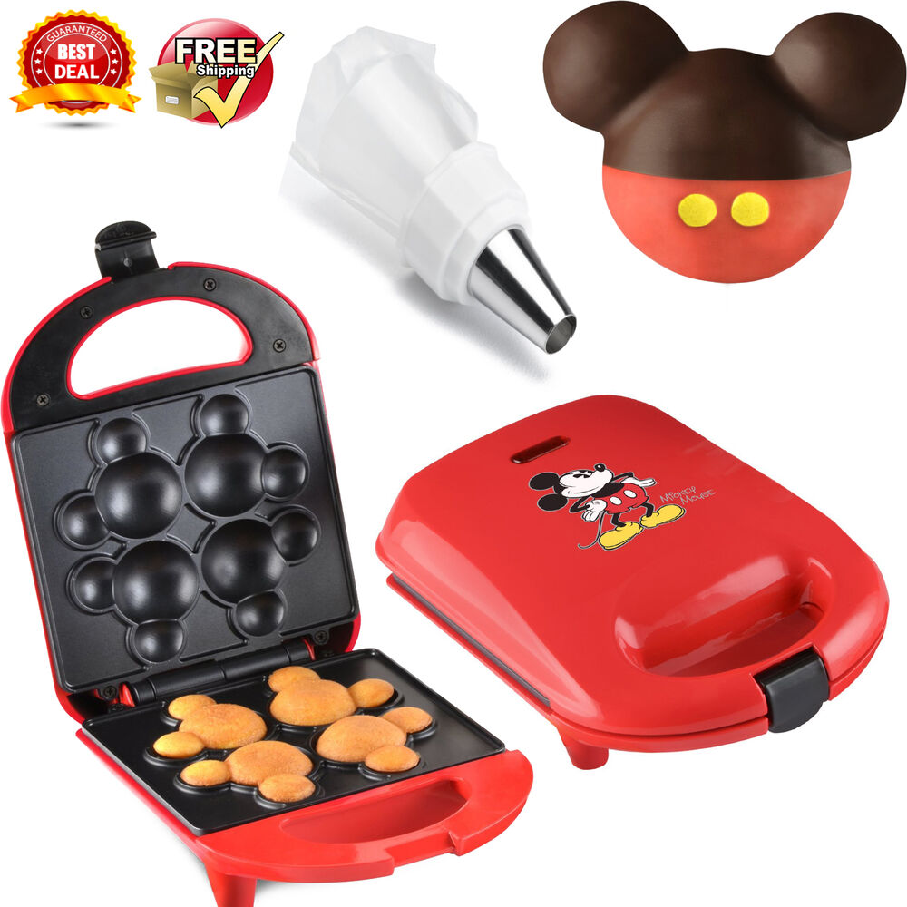 disney dcm 8 mickey cake pop maker mini electric bakery machine babycakes pops ebay. Black Bedroom Furniture Sets. Home Design Ideas