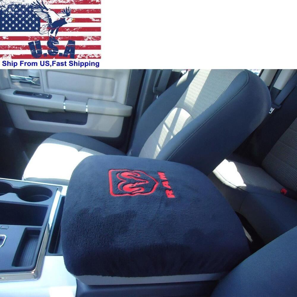 Truck center console armrest protector pad cover for dodge