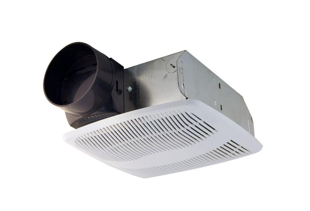 Air king low profile quiet bathroom wall ceiling - Bathroom exhaust fan 3 inch duct ...