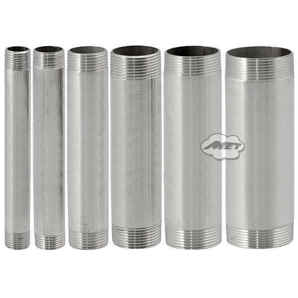 Quot dn male threaded stainless steel ss pipe
