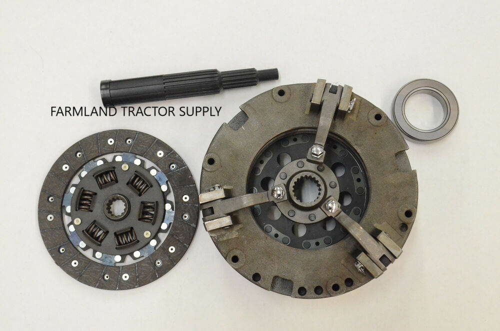 Tractor Dual Clutch : Ford dual stage clutch kit ebay