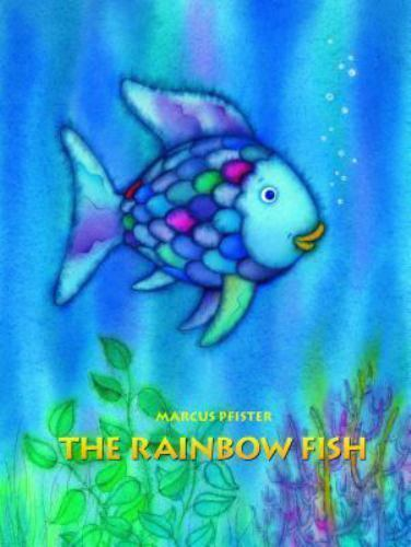 The rainbow fish by marcus pfister 1992 hardcover for The rainbow fish by marcus pfister