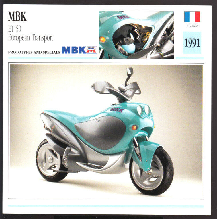1991 mbk et 50cc european transport motobecane yamaha. Black Bedroom Furniture Sets. Home Design Ideas
