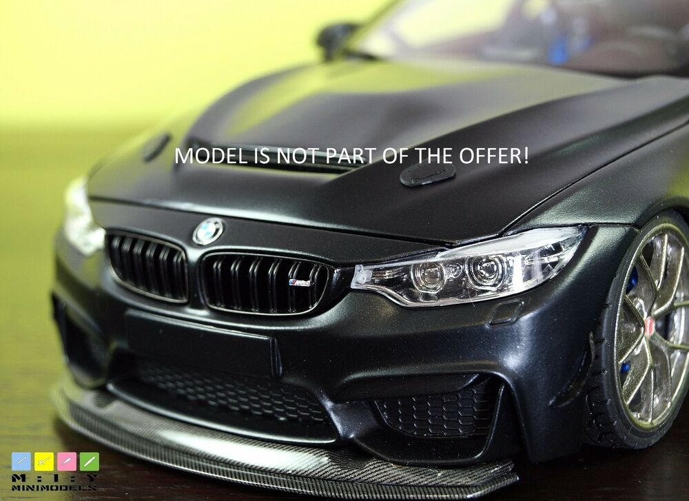 bmw m4 gts lip 1 18 unpainted resin ebay. Black Bedroom Furniture Sets. Home Design Ideas