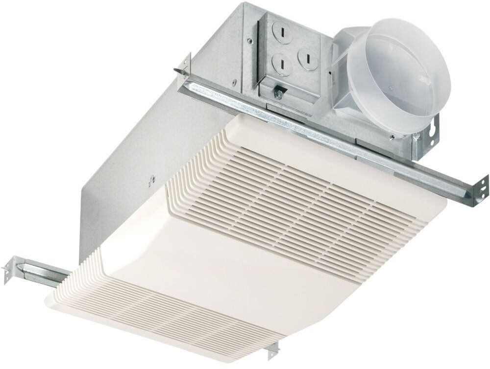 bathroom vent fan with light and heater heat a vent 70 cfm ceiling exhaust bath fan w 1300 watt 25949
