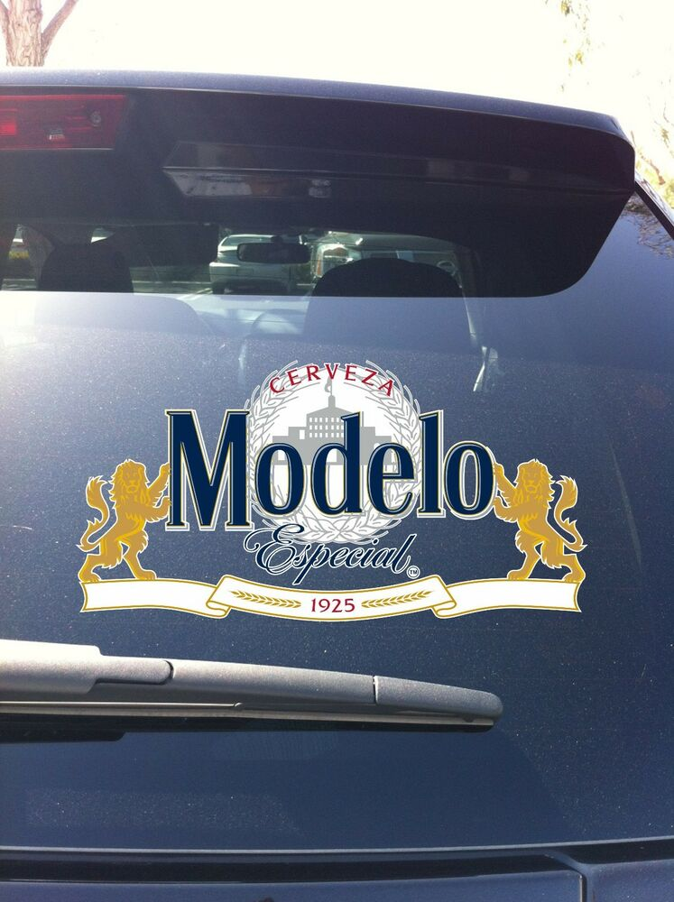 06 10 Modelo Especial Lion Cerveza Beer Window Vinyl