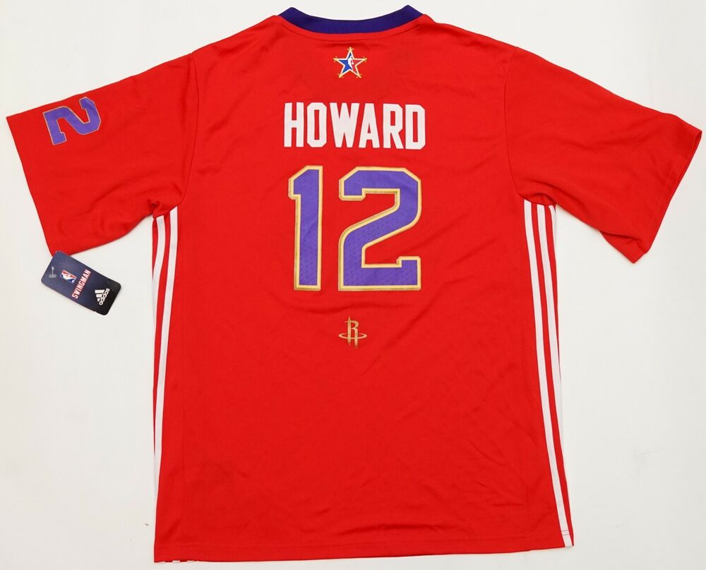 Basketball-nba New Adidas Swingman Dwight Howard 2014 Nba West All Star Replica Jersey #12 Sports Mem, Cards & Fan Shop