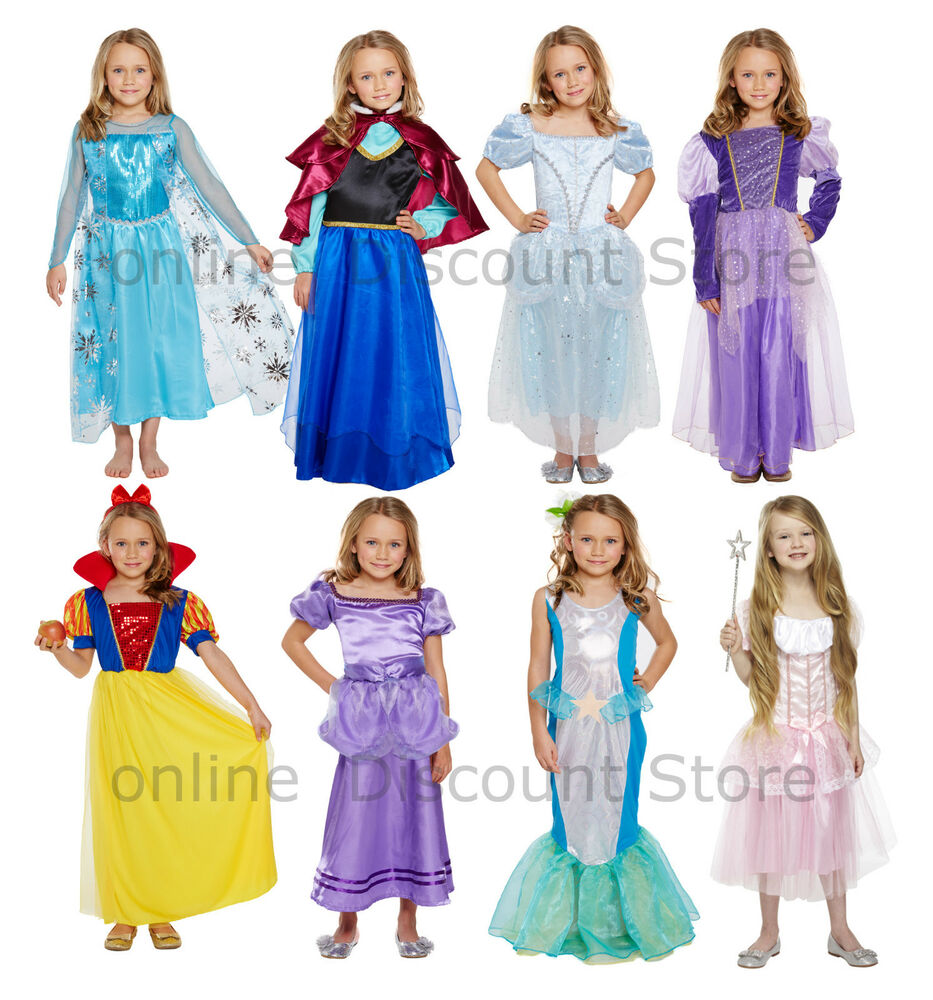 Dress Up: Kids Girls Princess Fancy Dress Cute Dress Up Costume