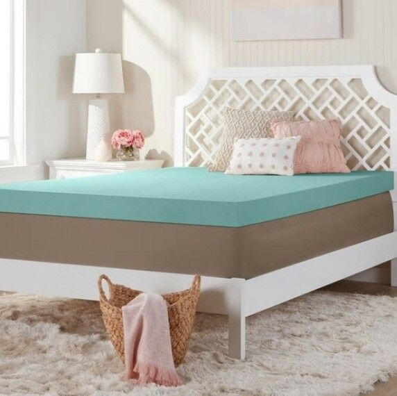 Comfort dreams 4 inch memory foam mattress toppers bed topper memoryfoam pad ebay 4 memory foam mattress topper
