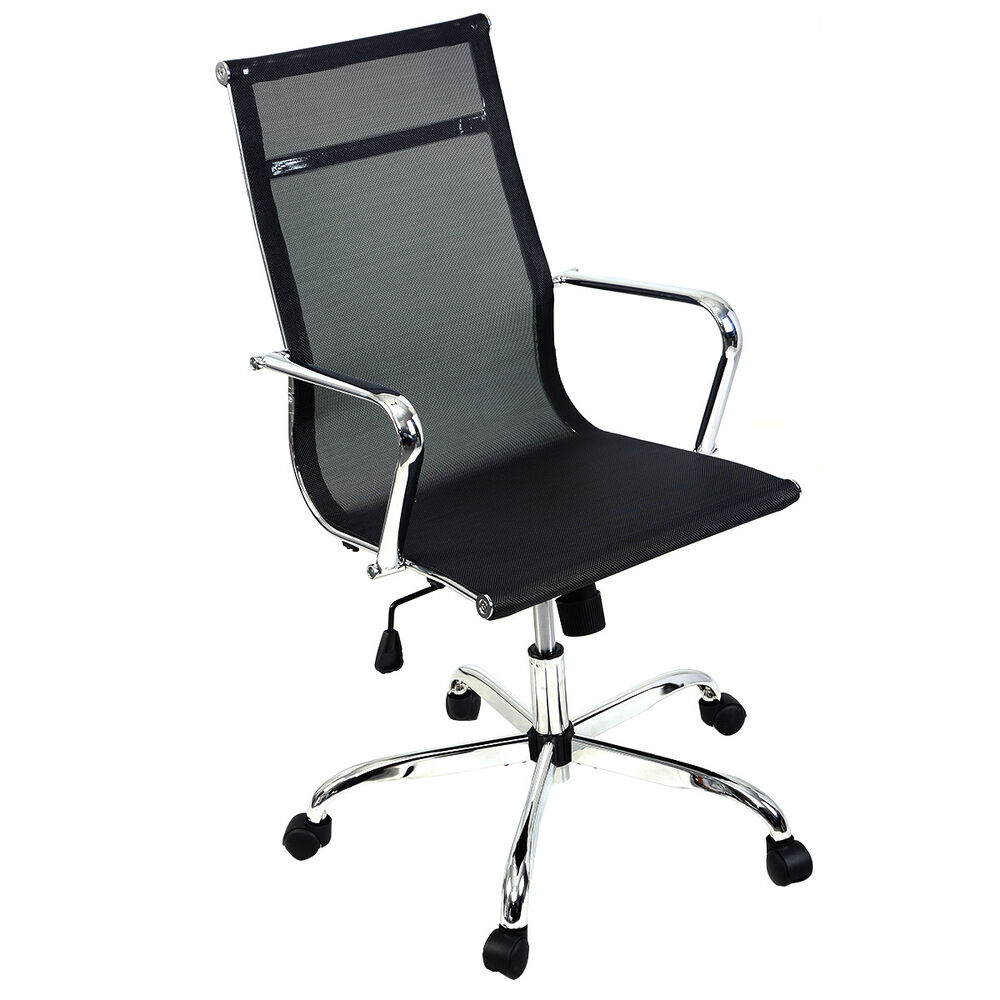 New modern ergonomic mesh high back executive computer for Modern executive office chairs