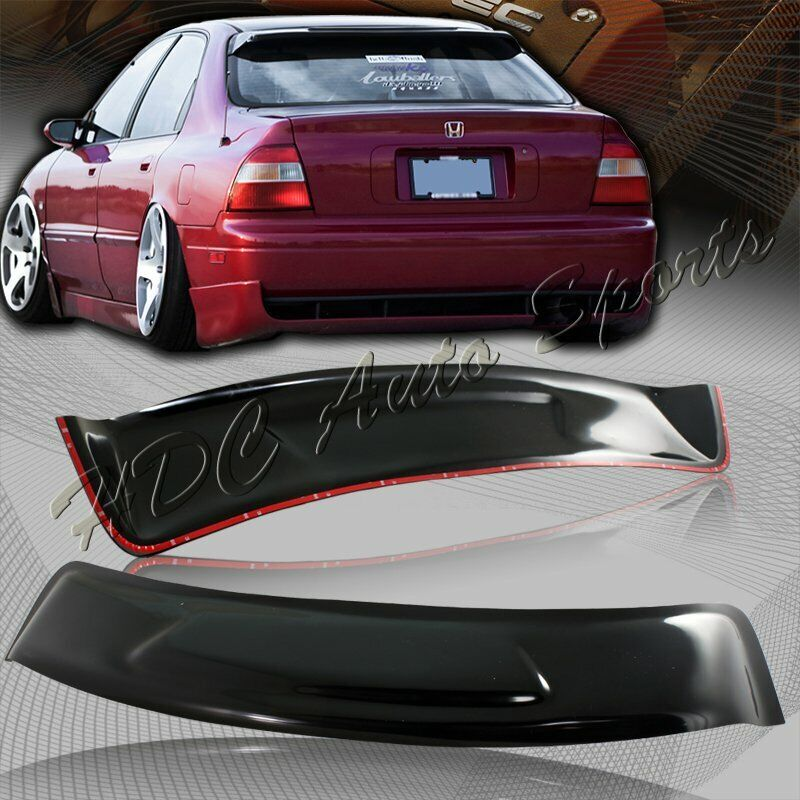 For 1994 1997 honda accord sedan abs sun shade rear roof for 2000 honda civic rear window visor