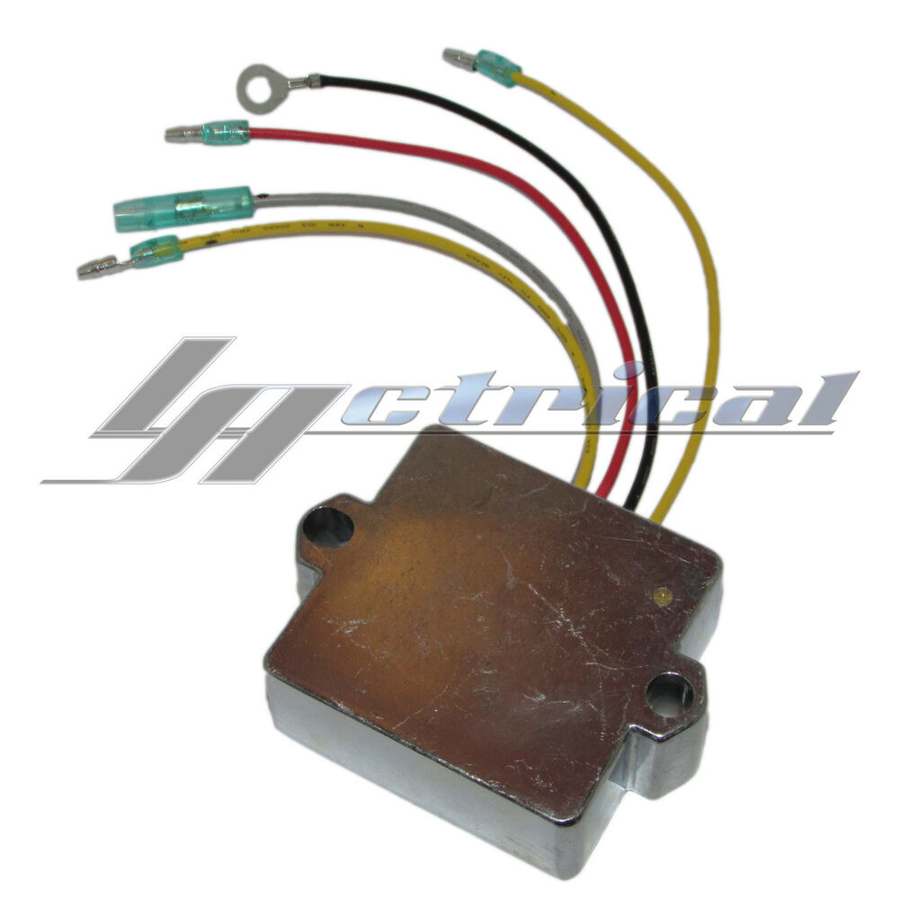 New 5 wire regulator rectifier fits mercury marine for Buy new mercury outboard motor