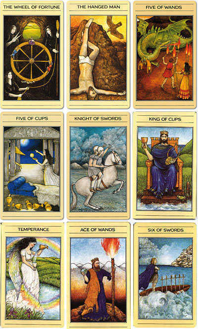 Mythic Tarot Single Replacement Cards Tricia Newell