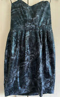 Ladies Jane Norman Beautiful Boned Black Party Dress BNWOT RRP £38 Size 12 NEW