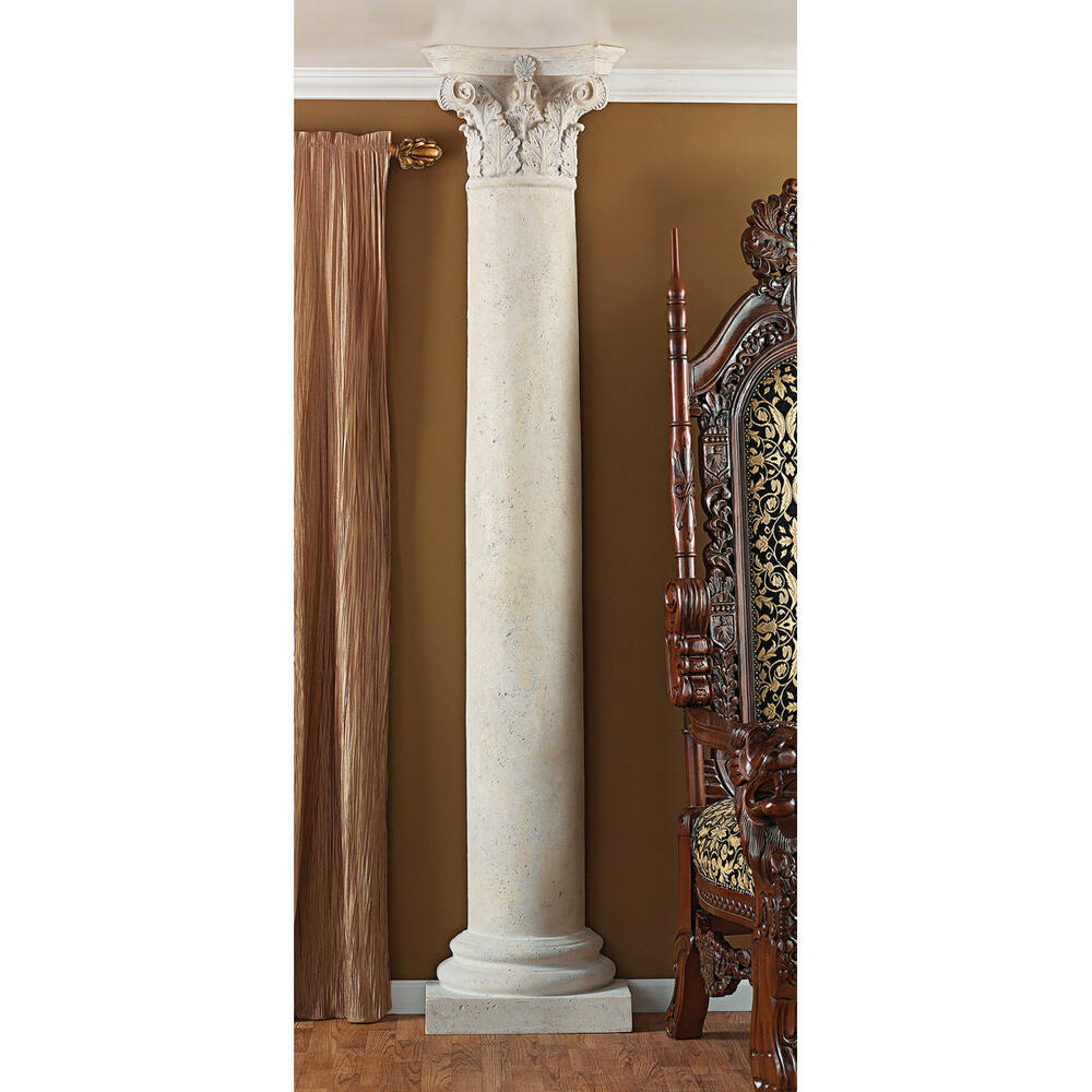 86 architectural design weathered finish decorative half for Interior columns for sale