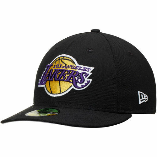Los Angeles Lakers Cap New Era Los Angeles Lakers Ladies: Los Angeles Lakers New Era Low Profile 59FIFTY Fitted Hat
