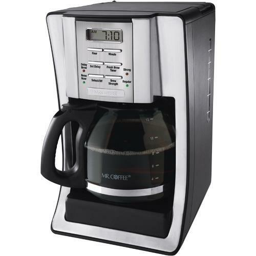 Mr Coffee Programmable Coffee Maker Cgx23 : Mr. Coffee BVMC-SJX39 12 Cup Programmable Coffee Maker 72179231448 eBay