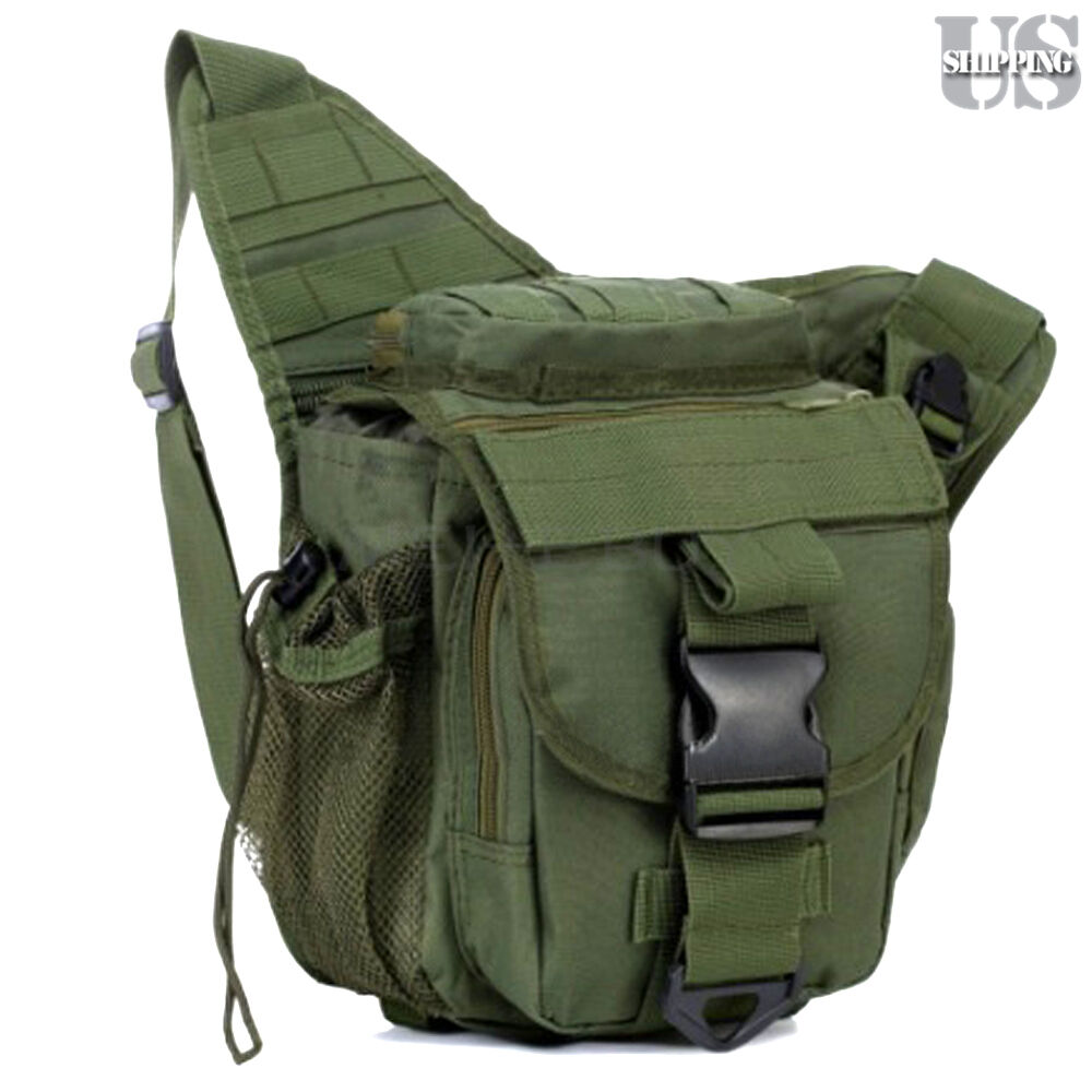 Camera Travel Pouch : Molle military tactical dslr camera shoulder pouch waist