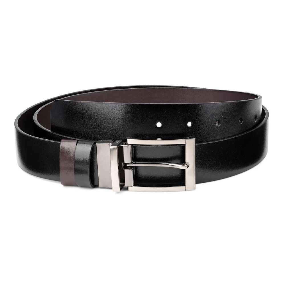 reversible belts for black brown dress belt buckles