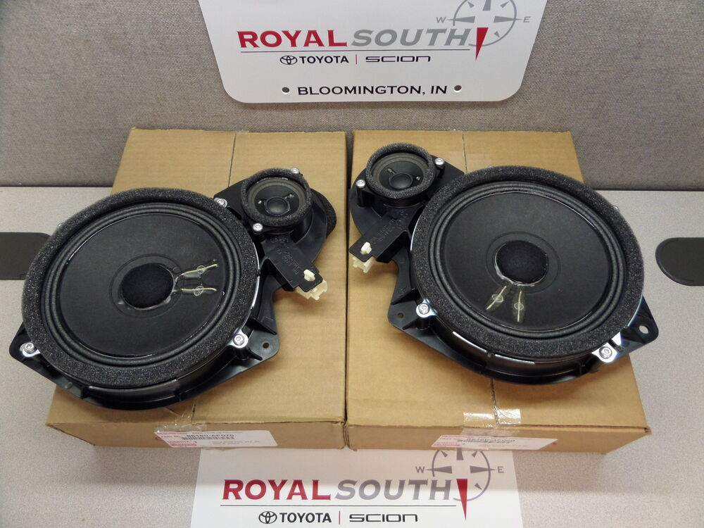 toyota tundra sequoia front left right jbl door speakers. Black Bedroom Furniture Sets. Home Design Ideas