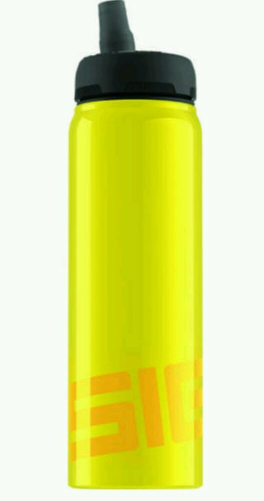 NEW SIGG WATER BOTTLE 8389.9 ACTIVE TOP NATIONAL YLW 0.75L ...