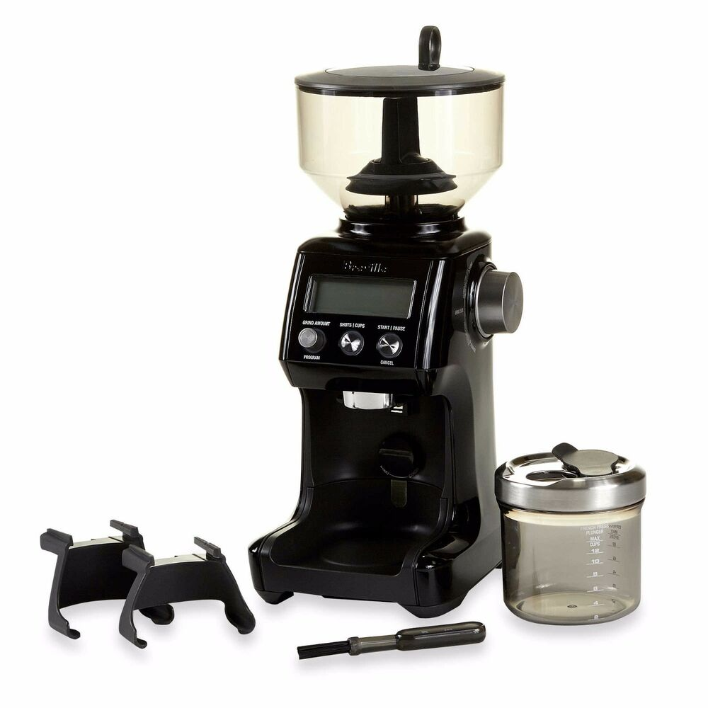 Smart Coffee Maker With Grinder : Steel Conical Burr Electric Smart Pro Nut Mill Spice Whole Bean Coffee Grinder eBay