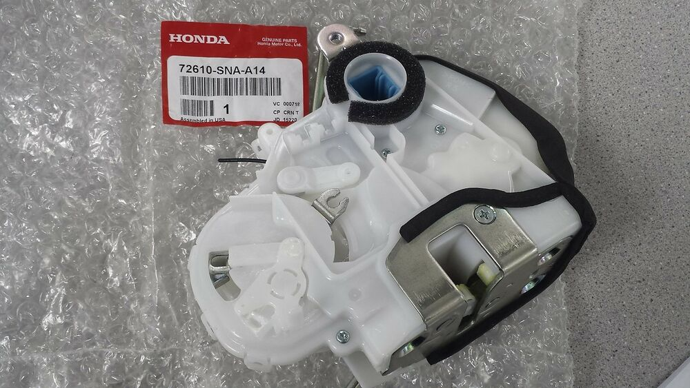 Genuine Honda Civic Right Rear Door Lock Latch Actuator