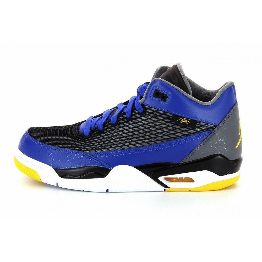 00b48ab0c21 Details about 599583-489 Air Jordan Flight Club 80's Royal/Maize-Grey Sizes  9-11 NIB
